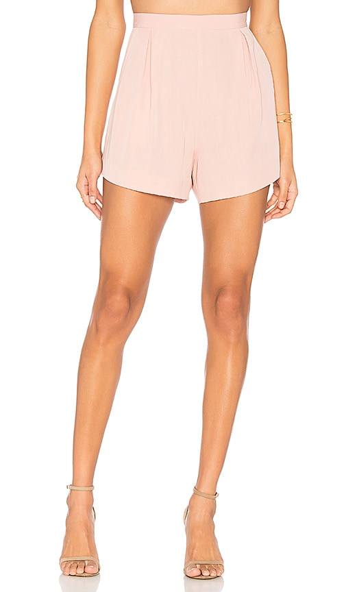 Finders Keepers Aster Short in Pink