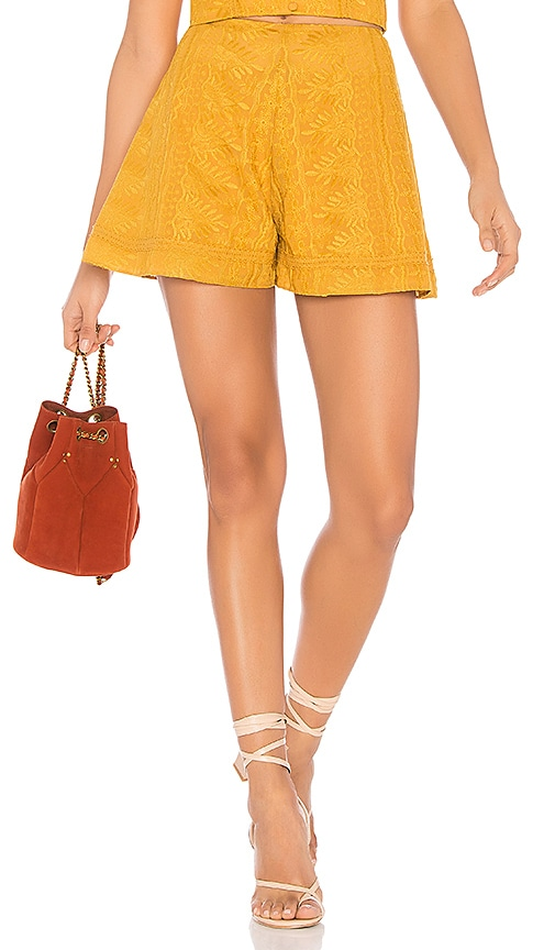 Finders Keepers Maella Short in Mustard