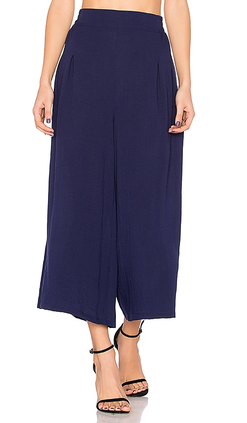 Finders Keepers Mason Culottes in Navy