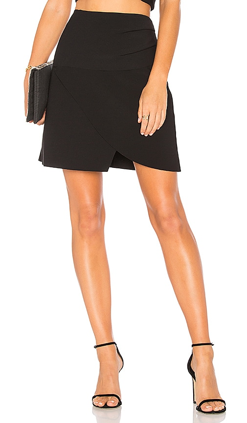 Finders Keepers Oblivion Mini Skirt in Black