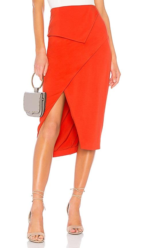 Finders Keepers Nighttide Skirt in Orange