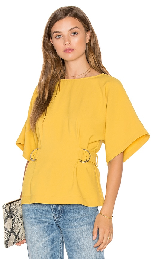 Finders Keepers Dissolve Top in Yellow