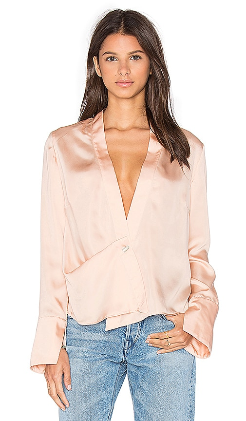 Finders Keepers Start Believing Top in Peach