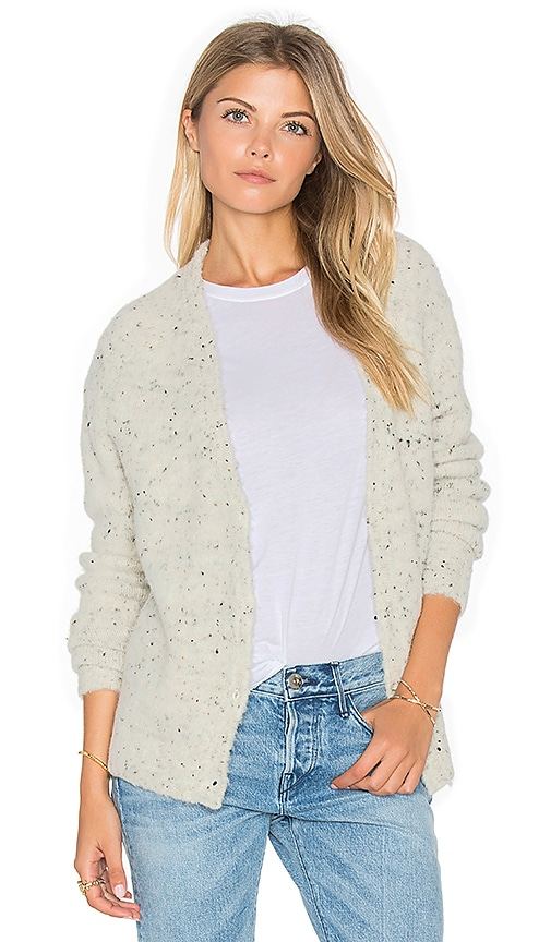 Fine Collection Phoebe Scoop Neck Sweater in Ivory