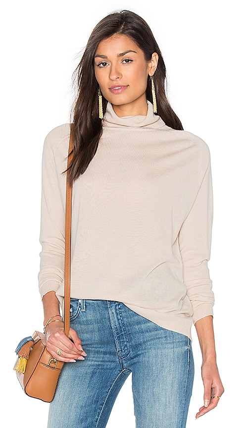 Fine Collection Odetta Turtleneck Sweater in Cream