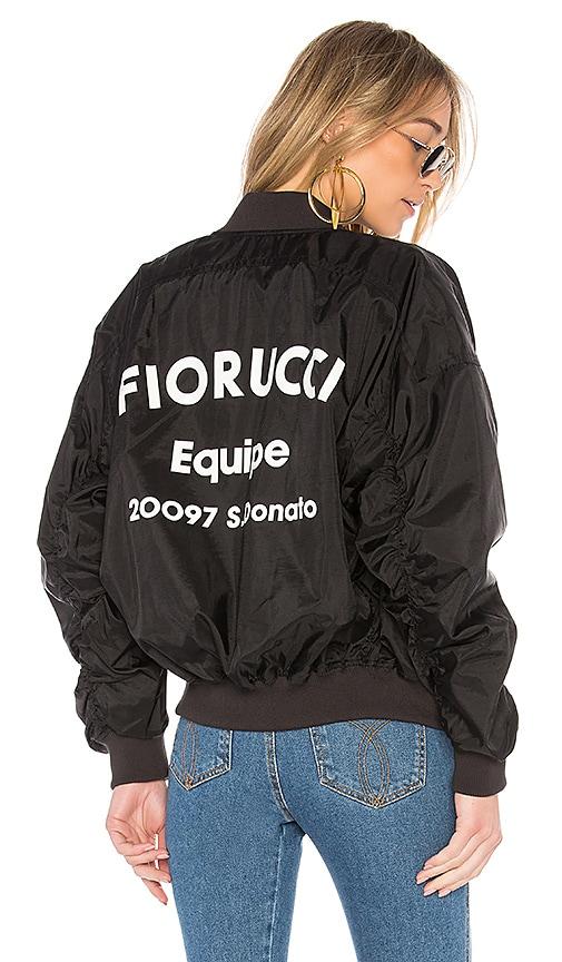 FIORUCCI Lou Bomber Jacket in Black