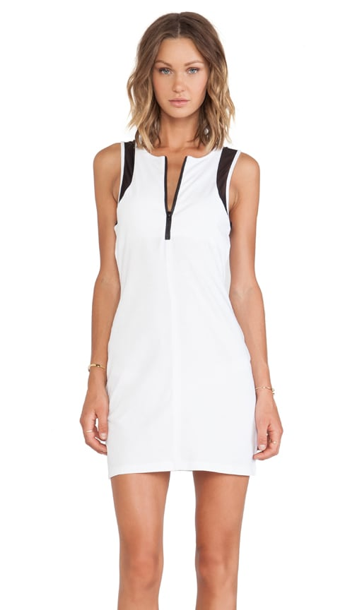 Zip Front Scuba Dress