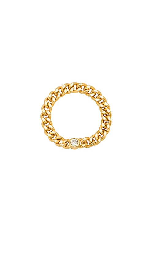 Five and Two Ira Ring in Gold