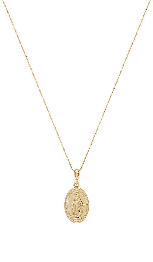 Wanderlust + Co x REVOLVE Celeste Opal Necklace in Metallic Gold Vhwpb24