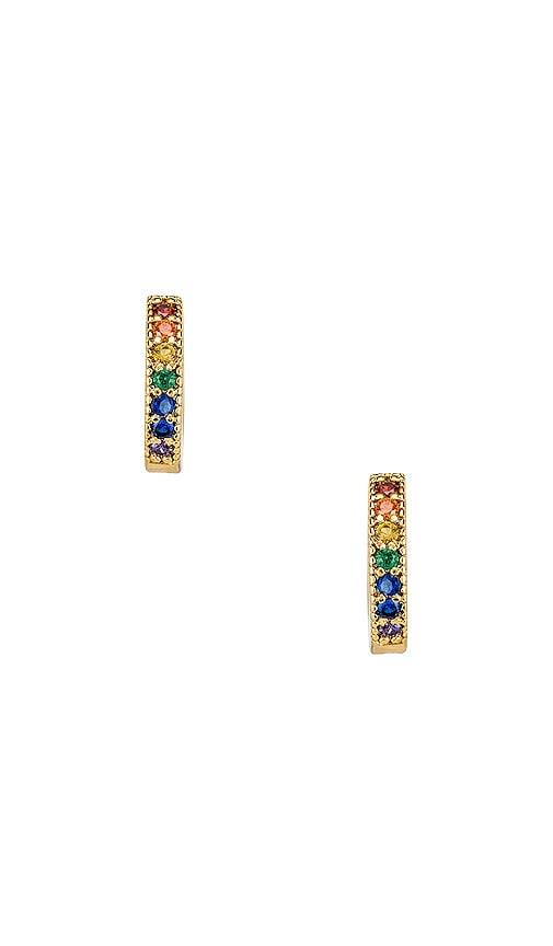 Dallas Mini Stone Earrings