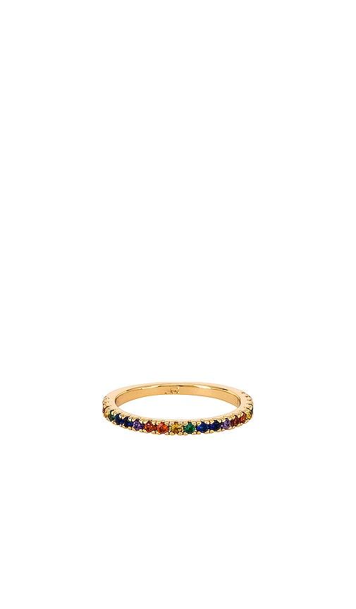 Maria Rainbow Stone Ring