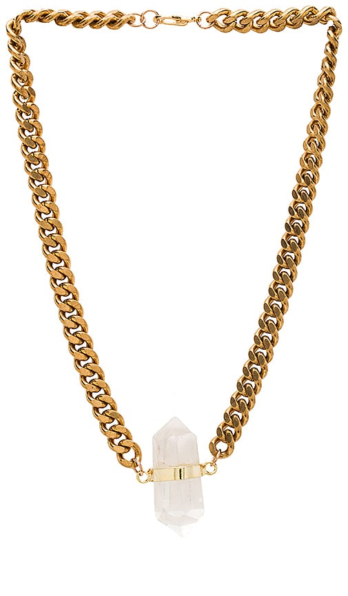 Five and Two Olivia Necklace in Quartz