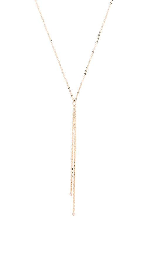 Five and Two Maddox II Necklace in Gold & Opal