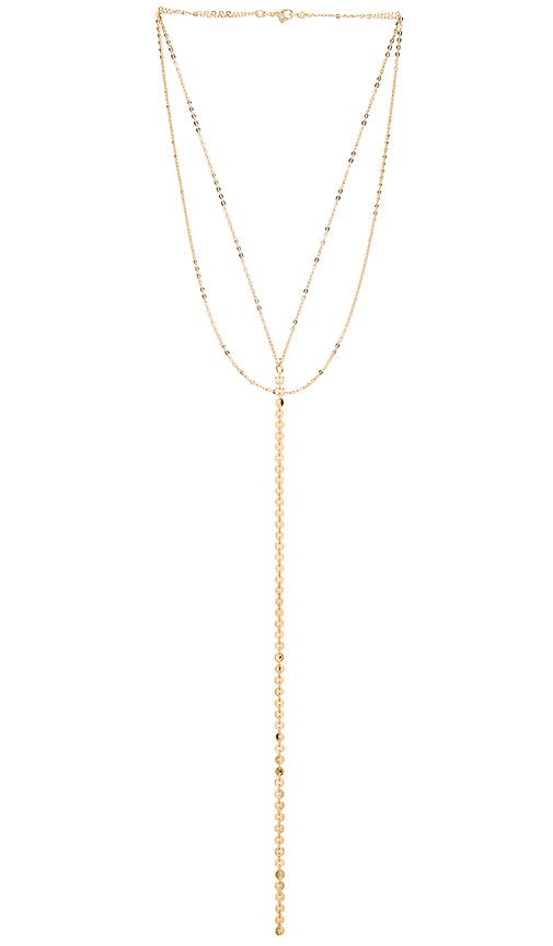 Five and Two Celine Necklace in Gold