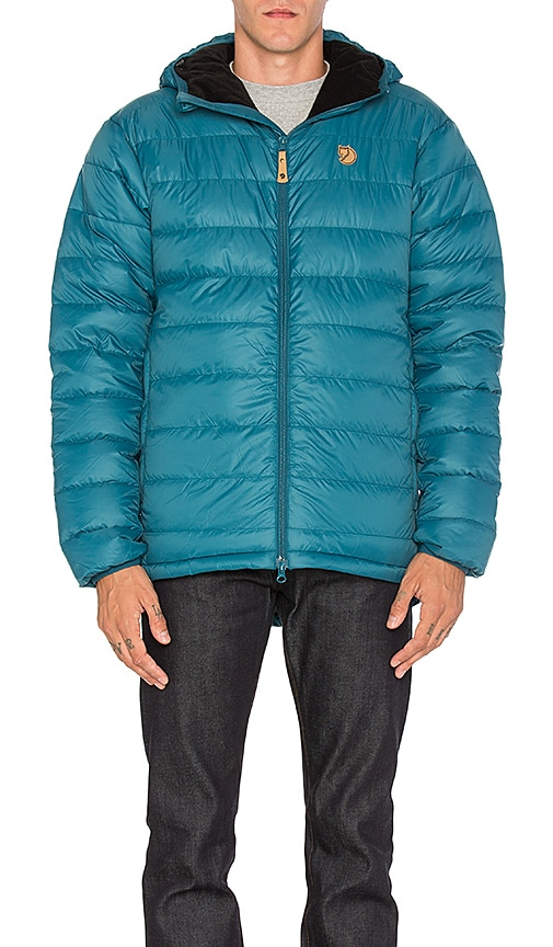 Fjallraven Pak Down Jacket in Blue