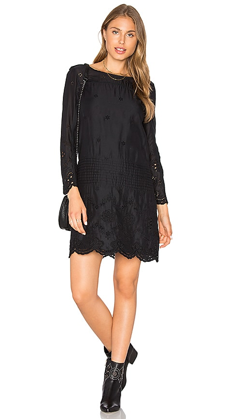Flannel Australia Flannel Clove Dress in Black