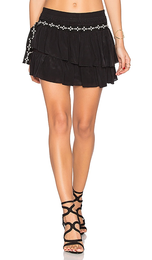 Flannel Australia Montmartre Shorts in Black