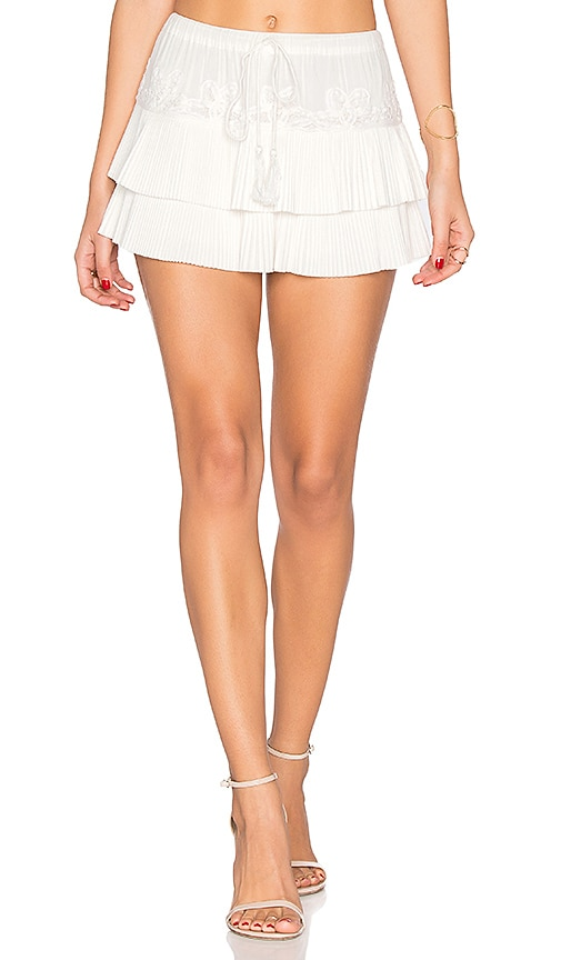 Flannel Australia Penchant Shorts in White