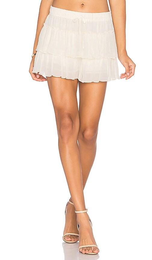 Flannel Australia Montreaux Short in Ivory