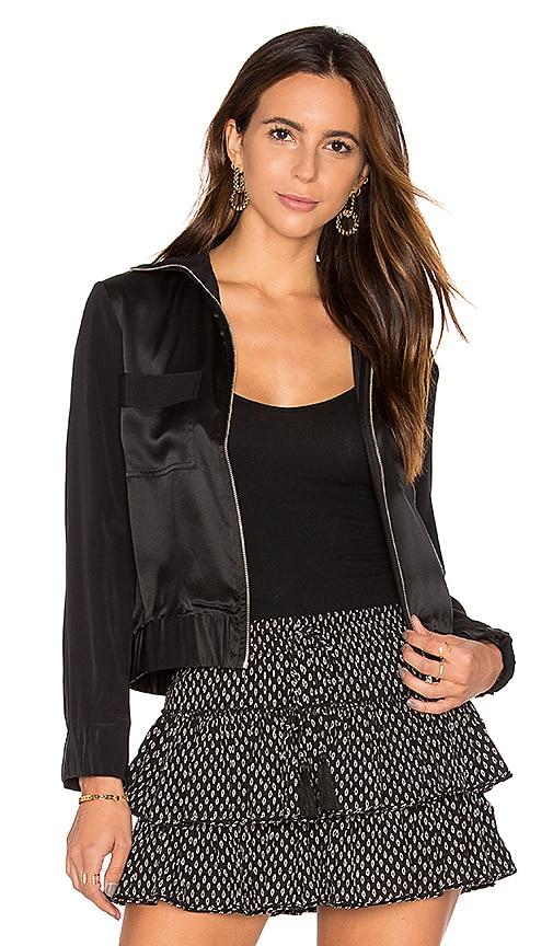 Flannel Nefertiti Jacket in Black