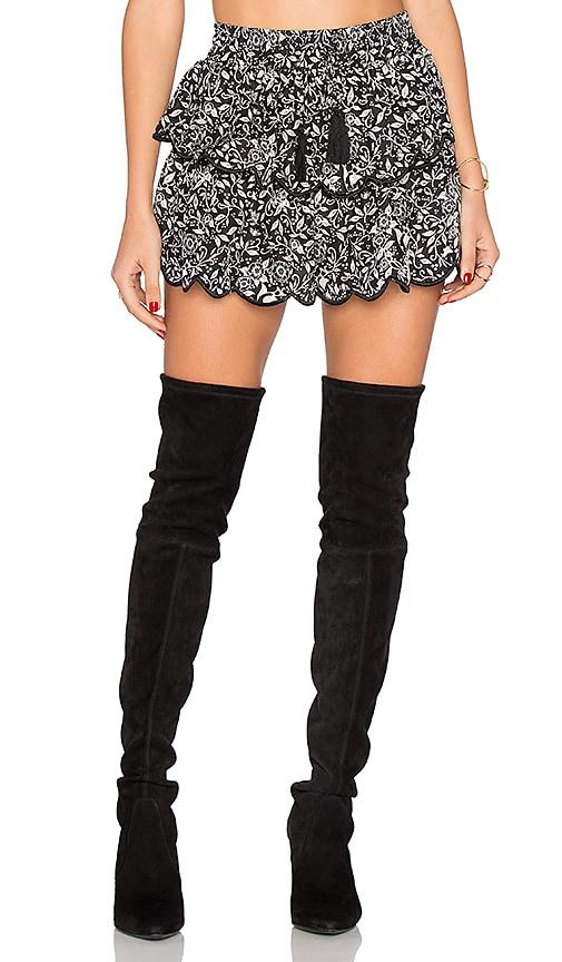 Flannel Australia Lorikeet Short in Black