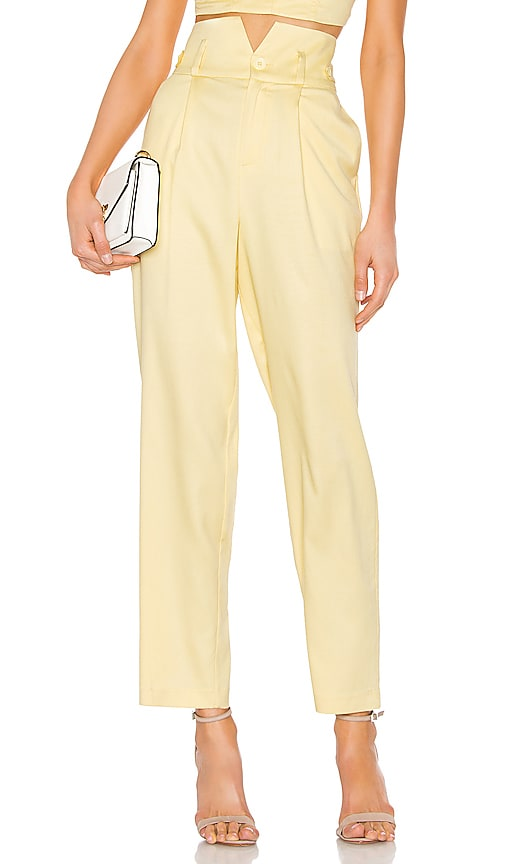 V Waist Trouser