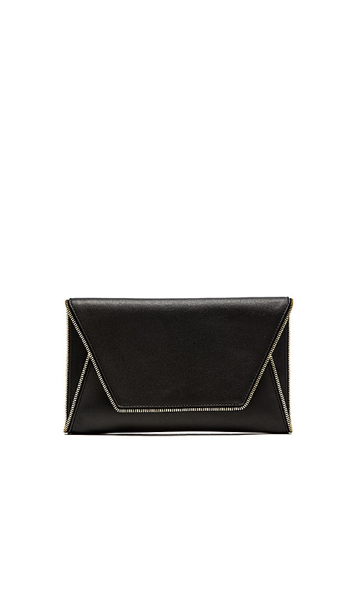 FLYNN Fergie Clutch in Black