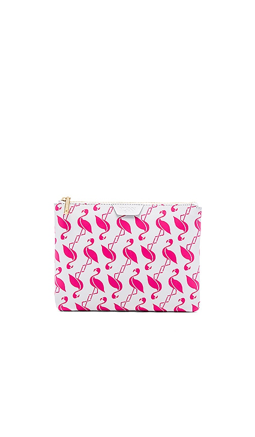 Flamingo Madison Clutch