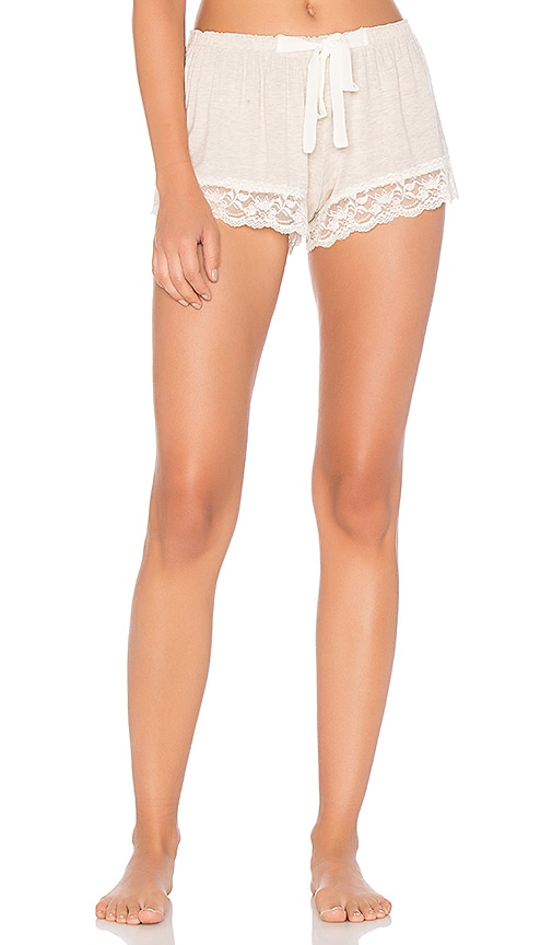 Flora Nikrooz Snuggle Short in Cream