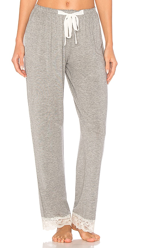 Flora Nikrooz Snuggle Knit Pant in Gray
