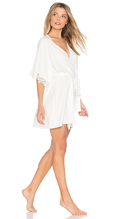 d2443be40b81 Leslie Matt Charmeuse Lace Cover Up. Leslie Matt Charmeuse Lace Cover Up. Flora  Nikrooz