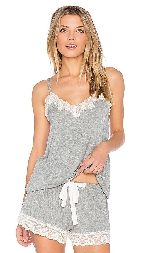 Snuggle Knit Lace Cami
