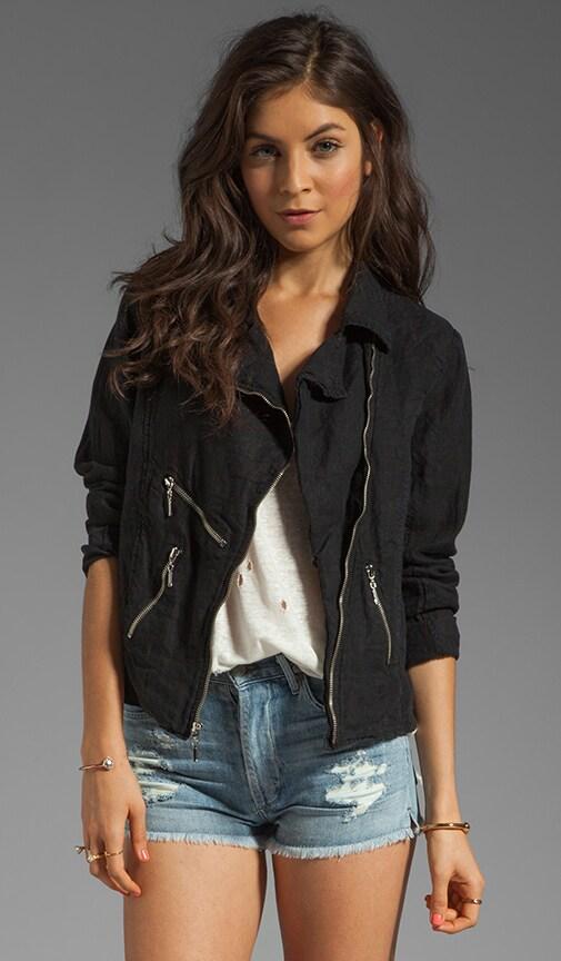 Linen Jade Jacket