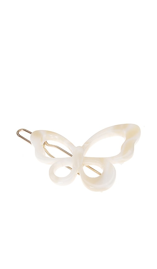 Small Cutout Butterfly Tige Boule Barrette