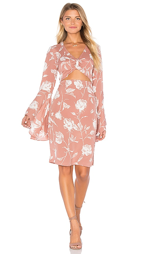 FLYNN SKYE Moscow Dress in Rose