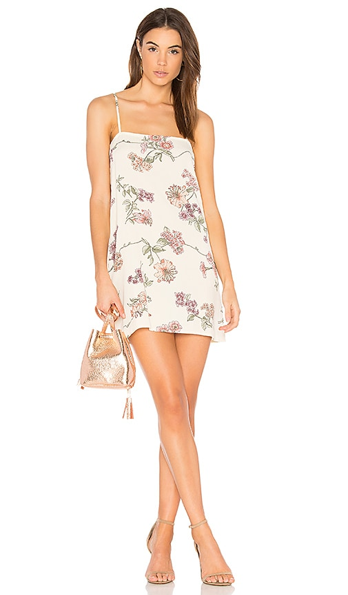 FLYNN SKYE Summer Slip Dress in Cream