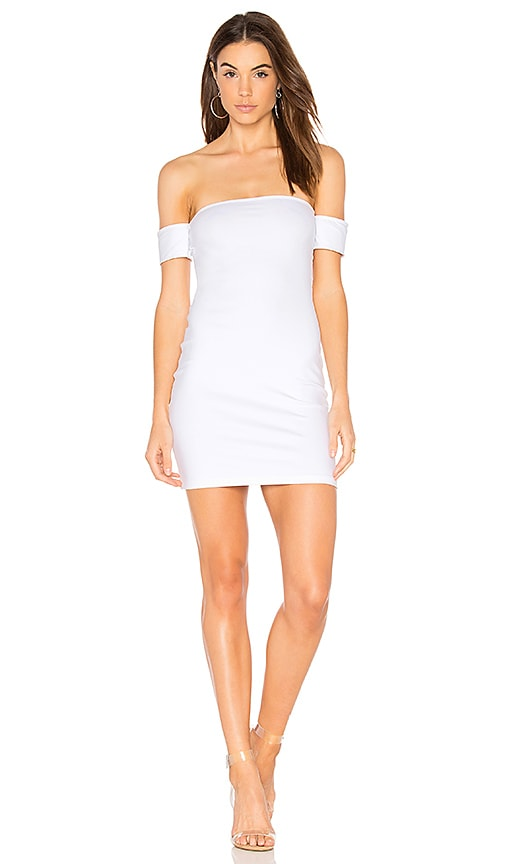 FLYNN SKYE Roxy Dress in White