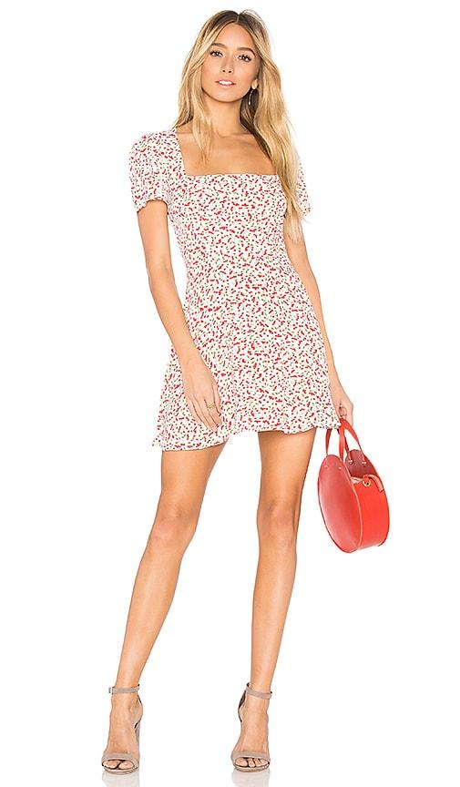 6cb7b7b5e769 FLYNN SKYE Maiden Mini Dress in Sweet Cherry Pie | REVOLVE