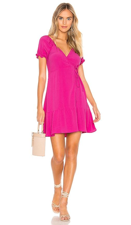 Annabelle Wrap Mini Dress