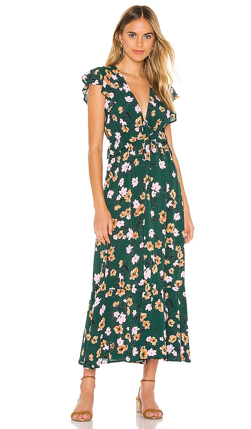 Ophilia Midi Dress
