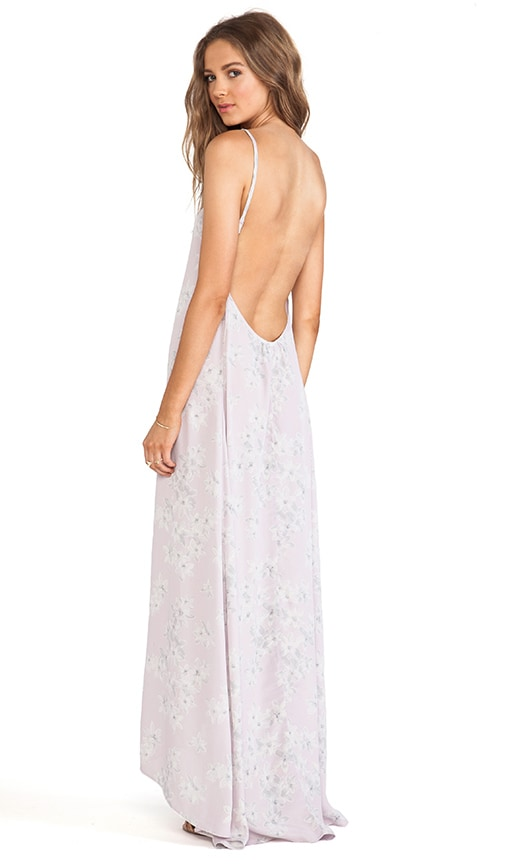 Scoop Back Maxi Dress