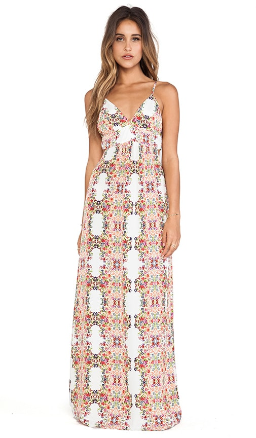 Menage A Trois Maxi Dress