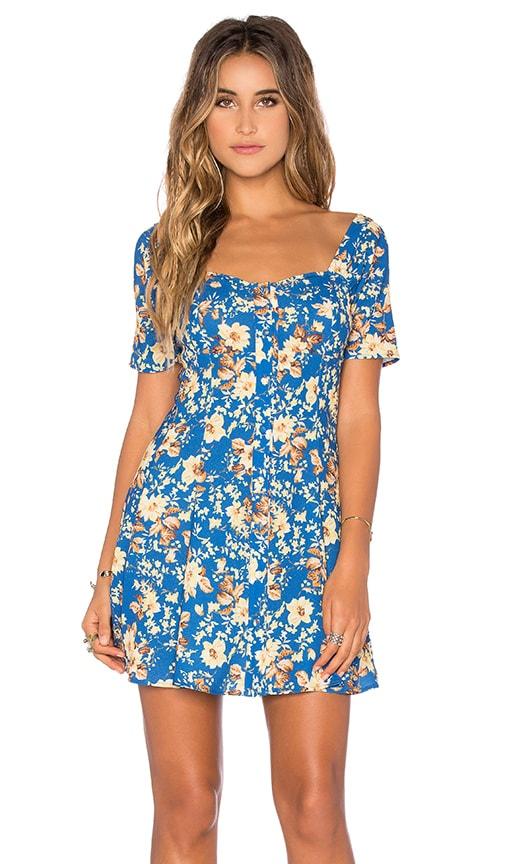 FLYNN SKYE Nyla Dress in Blue