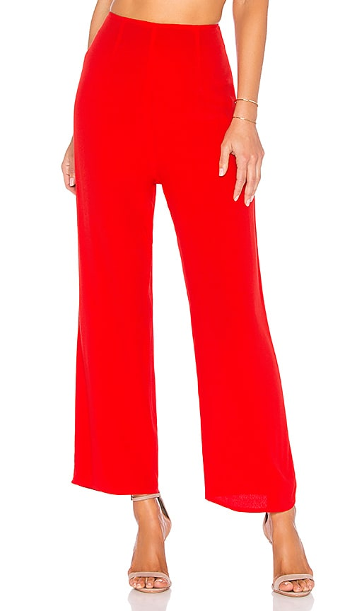 FLYNN SKYE Parker Pant in Red