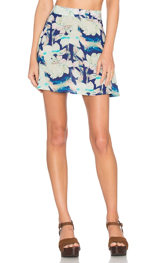 FLYNN SKYE It Skirt in Blue Moonshine
