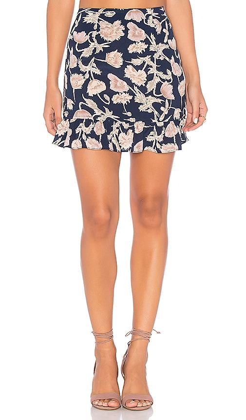 FLYNN SKYE Milan Mini Skirt in Navy
