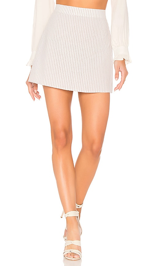 FLYNN SKYE It Skirt in Beige