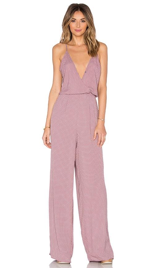 FLYNN SKYE Dressy Jumpsuit in Blush Maze  2728cdb6f02c