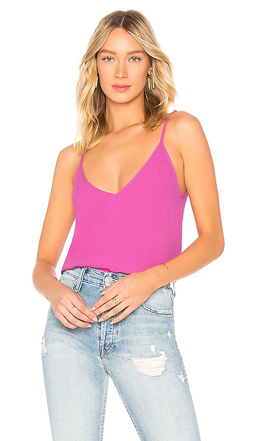 abc7e1d5635 FLYNN SKYE Perfect Tank Top in Passion Fruit