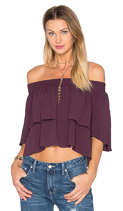 FLYNN SKYE Athens Top in Purple